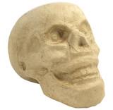 Skull   Papier Mache   15cm x 16cm x 9cm   Decopatch