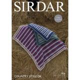 Blankets Crochet Pattern | Sirdar Country Style DK 7826 | Digital Download - Main Image