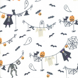 Ghouls and Goodies | Stacy Iest Hsu | Moda Fabrics | 20681-11 | Costumes Cream