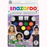 Snazaroo | Ultimate Party Pack Face Painting Kit | 21pcs - Main Party