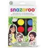 Rainbow Face Painting Kit | 11 Pieces | Snazaroo - Main Image