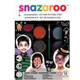 Halloween Face Painting Kit | 11pcs | Snazaroo - Main Image