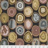 Charcoal Geodes | February 2020 Collective | Kaffe Fassett Fabrics
