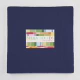 Bella Solids | Moda Fabrics | Admiral Blue | Junior Layer Cake