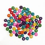 Wooden Beads | Assorted Colours | 6mm | Trimits Essentials