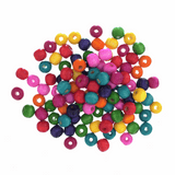 Wooden Beads | Assorted Colours | 10mm | Trimits Essentials