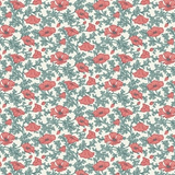 Winterbourne House | Liberty Fabrics | 04775741C | Nina Poppy 741C