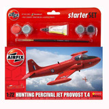 Airfix Small Starter Set | Hunting Percival Jet Provost T.4 | 1:72 - Main Image
