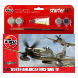 Airfix Starter Set North American Mustang IV (A55107) | 1:72