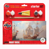 Airfix Small Starter Set | Mary Rose | 1:400 - Main Image