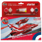 Airfix Medium Starter Kit RAF Red Arrows Hawk | 1:72