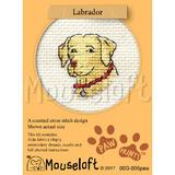Labrador | Stitchlets Mini Cross Stitch Kits | Paw Prints | Mouseloft