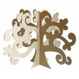 MDF Wood Shape | 3D Tree | Pronty Crafts