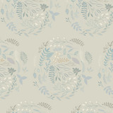 Serenity Fusion | Maureen Cracknell | Art Gallery Fabrics | AGFFUSSE2103 | Wreathed Serenity