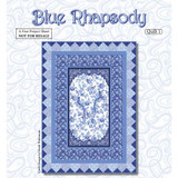 Blue Rhapsody Quilt 1 Free Quilting Pattern Project, Blank Quilting Corporation | Downloadable Pattern - Main image