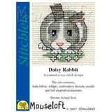 Mouseloft Stitchlets Mini Cross Stitch Kits   Daisy Rabbit