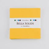 Bella Solids | Moda Fabrics | Charm Pack | 9900PP-24S | Yellow