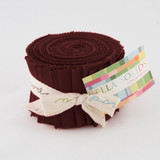 Bella Solids | Moda Fabrics | Junior Jelly Roll | 9900JJR-18 | Burgundy
