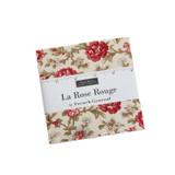 La Rose Rouge | French General | Moda Fabrics | 13880PP | Charm Pack