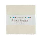 Bella Solids | Moda Fabrics | Charm Pack | 9900PP-60 | Ivory