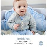 Bubbles Cardigan Knitting Pattern   WYS Bo Peep 4 Ply Knitting Yarn WYS98982   Free Digital Download - Main Image