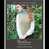 Beatrice Hound's Tooth Vest Knitting Pattern | WYS Illustriuos DK Knitting Yarn WYS98991 | Free Digital Download - Main Image