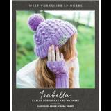 Isabella Cabled Bobble Hat & Warmers Knitting Pattern   WYS Illustriuos DK Knitting Yarn WYS98994   Free Digital Download - Main Image