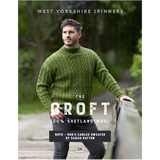 Boyd Cabled sweater Knitting Pattern | WYS The Croft DK Knitting Yarn WYS98015 | Digital Download - Main Image