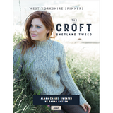 Alana Cabled Sweater Knitting Pattern | The Croft Aran Knitting Yarn WYS98027 | Digital Download - Main Image