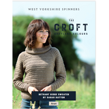 Bethany Ridge Sweater Knitting Pattern   WYS The Croft Aran Knitting Yarn WYS98042   Digital Download - Main Image