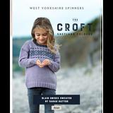 Blair Sweater Knitting Pattern   WYS The Croft Aran Knitting Yarn WYS98043   Digital Download - Main Image
