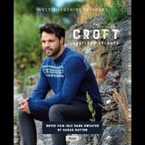 Bryce Fairisle Band Sweater Knitting Pattern   WYS The Croft Aran Knitting Yarn WYS98044   Digital Download - Main Image