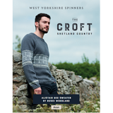 Alistair Geo Sweater Knitting Pattern | WYS The Croft Aran Knitting Yarn WYS98057 | Digital Download - Main Image