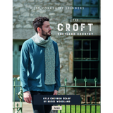 Kyle Chevron scarf Knitting Pattern | WYS The Croft Aran Knitting Yarn WYS98061 | Digital Download - Main Image
