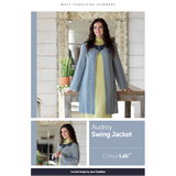 Audrey Swing Jacket Knitting Pattern | WYS Colour Lab DK Knitting Yarn WYS88976 | Digital Download - Main Image