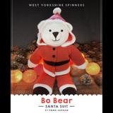 Bo Bear Santa Suit Knitting Pattern | WYS Bo Peep DK Knitting Yarn WYS00966 | Digital Download - Main Image
