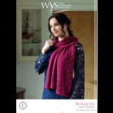 Rosalyn shawl Knitting Pattern | Exquisite Lace Knitting Yarn WYS55998 | Digital Download - Main Image