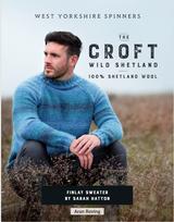 Finlay Sweater Knitting Pattern   Wild Shetland Knitting Yarn WYS00963   Digital Download - Main Image