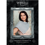 Exquisite Lace Shawlette Pattern Knitting Pattern | Exquisite Lace Knitting Yarn WYS55999 | Free Digital Download - Main Image