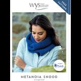 Metanoia Snood Knitting Pattern | Retreat Knitting Yarn WYS17997 | Free Digital Download - Main Image