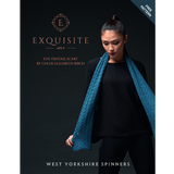 Eve Fishtail Scarf Knitting Pattern | Exquisite 4 ply Knitting Yarn WYS26998 | Free Digital Download - Main Image
