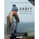 Heather Hat & Scarf Knitting Pattern | Wild Shetland Knitting Yarn WYS28999 | Free Digital Download - Main Image