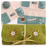 Corinne Lapierre Craft Kit | Felt Sewing Roll