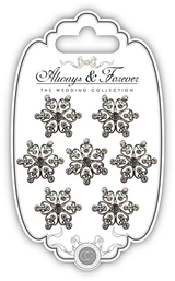 Heart Cluster Diamante Charms | Always & Forever | Craft Consortium - Main Image