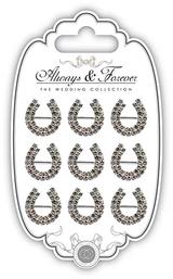 Diamante Horseshoe Buckles | Always & Forever | Craft Consortium - Main Image