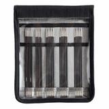 KnitPro Karbonz Double Pointed Needle Set | Sizes 2.5 mm - 4 mm | 15 cm