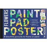 Paint Pad Poster Book | Flowers Book - Main Image