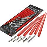 Essdee Scraper Cutter Set (5 Assorted Cutters and Holders)