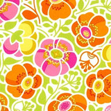 Wildwood | Sophie's Garden | Erin McMorris | EM13.ORANG | Orange