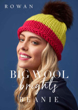 Rowan Free Beanie/Bobble Hat Knitting Pattern | Rowan Big Wool - Main Image